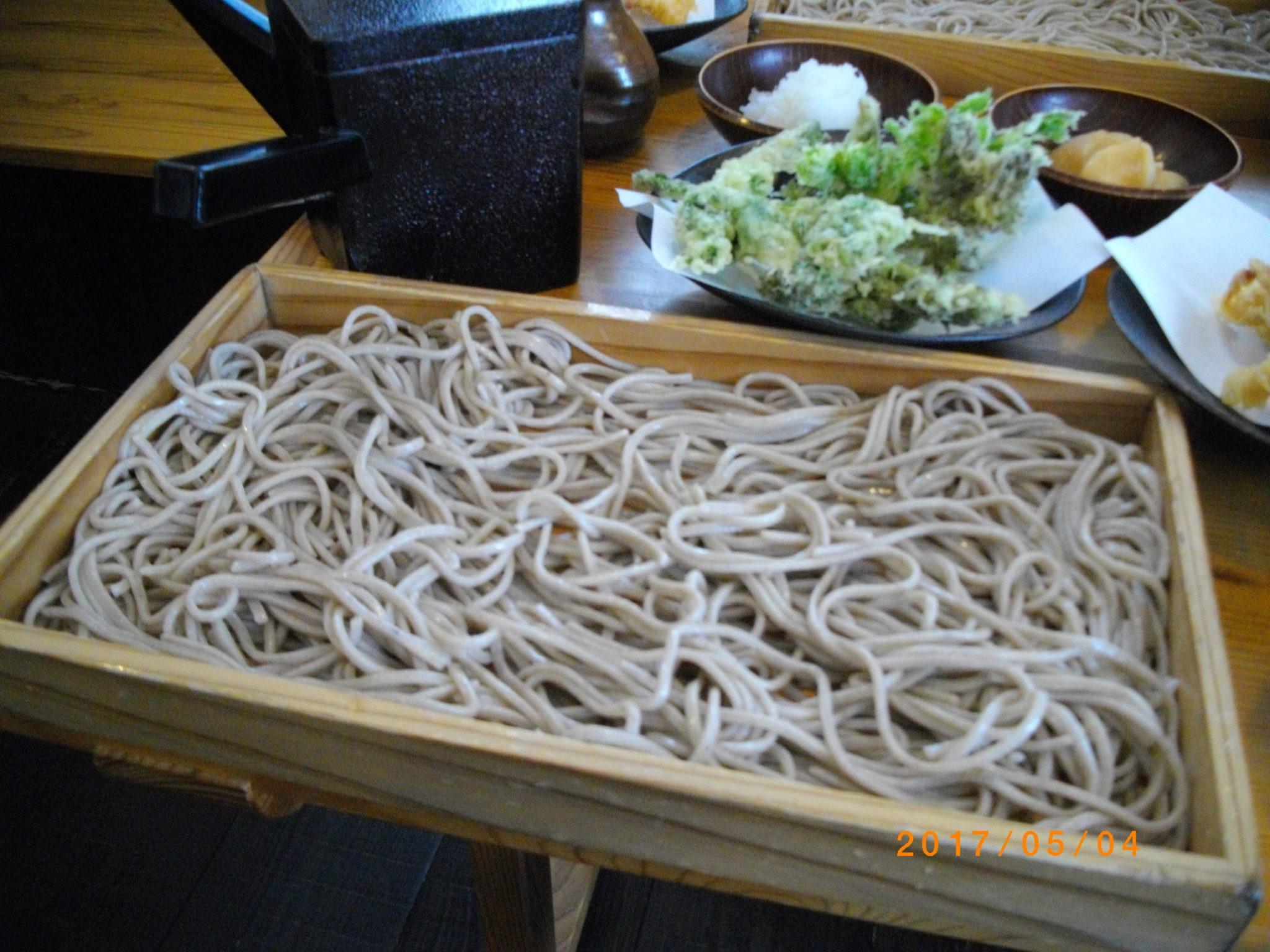 石臼十割そば 愛庵(めごあん)!山形板そばが美味しかった!
