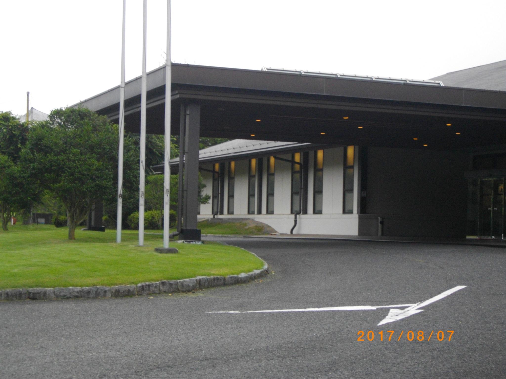 台風接近?の中でゴルフに行ってきました!松島チサンカントリークラブ・松島コース