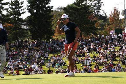 畑岡奈紗が優勝!【2017】宮城TV杯女子ゴルフ!宮里藍が【2003】【2006】に優勝!
