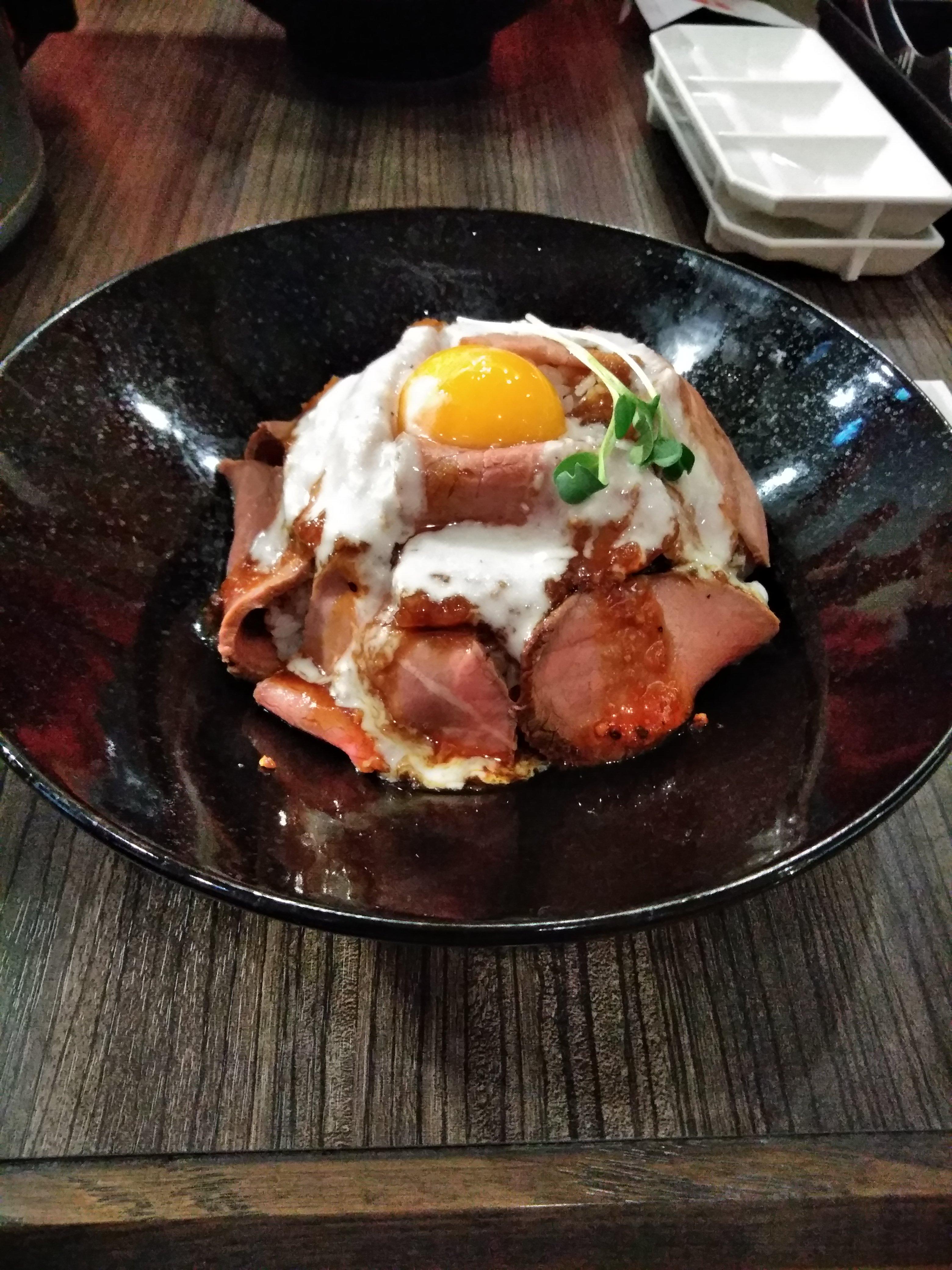 焼肉ひがしやま!ローストビーフ丼が200円引き?