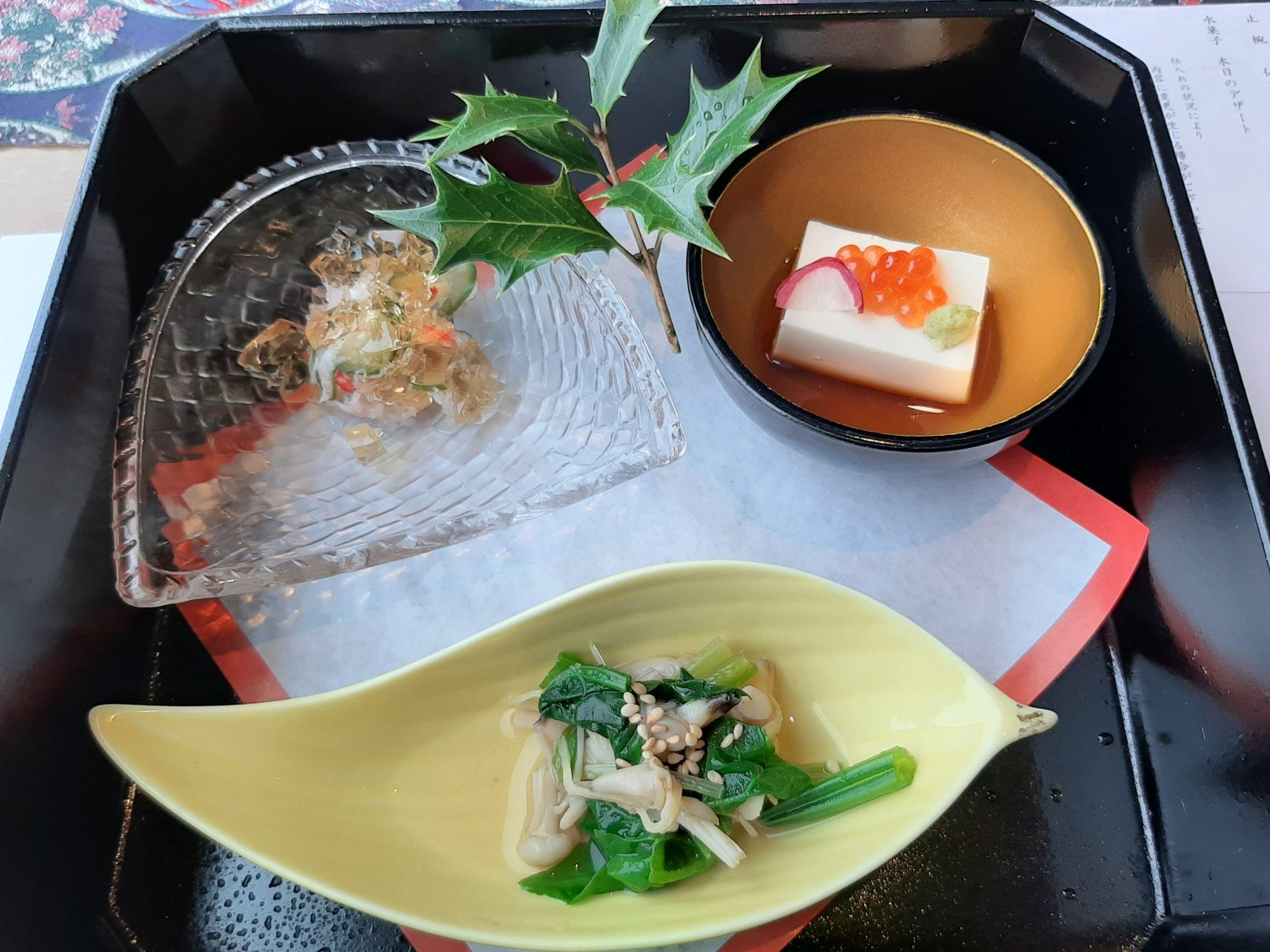 ウェスティンホテル仙台の京料理一舞庵(いちむあん)で顔合せを行った!