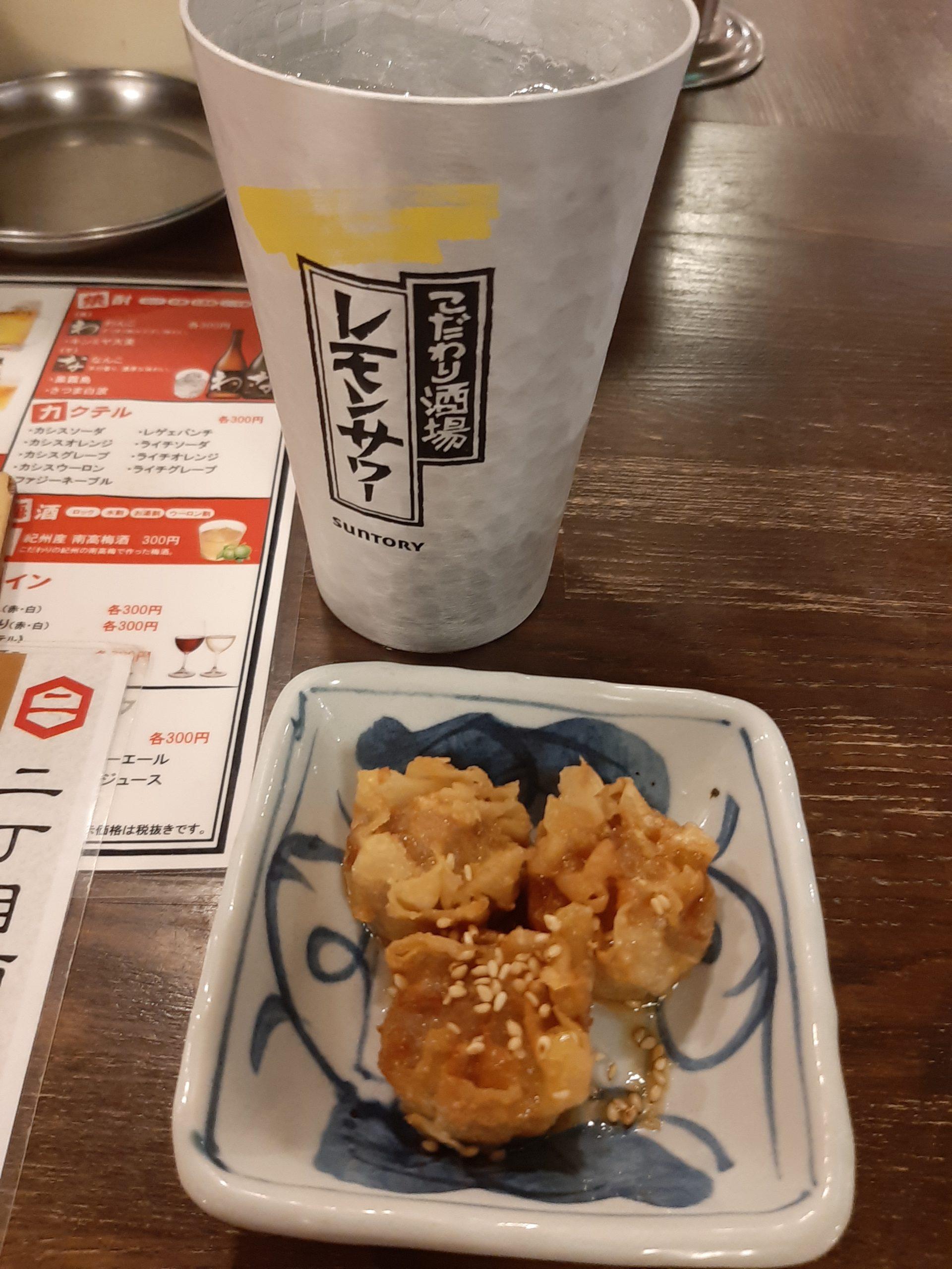 レモンサワーが99円!大人気の二丁目酒場 東口店に行ってみた!