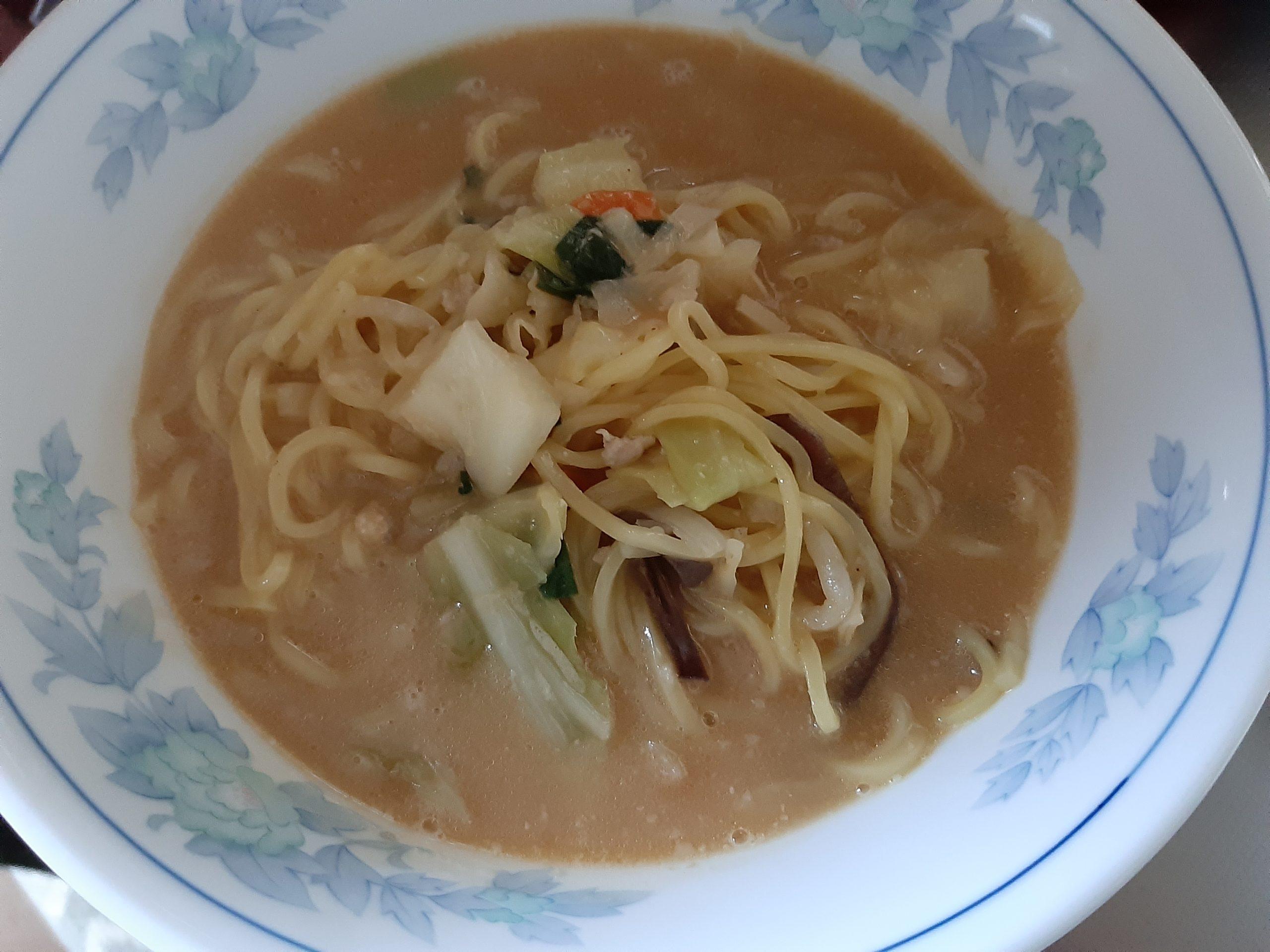 テイクアウト!幸楽苑のお持ち帰り冷凍麺(味噌野菜)を食べてみた!