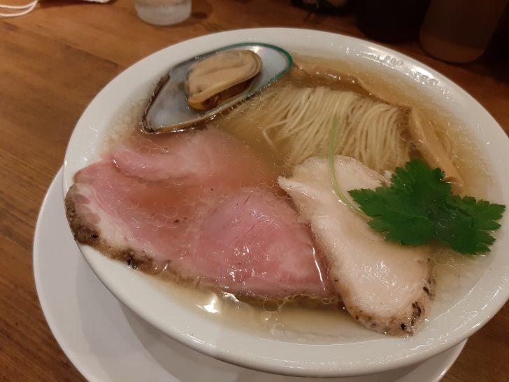 【絶品】麺屋58(ゴッパチ)の白の貝だし中華そばが旨過ぎる!