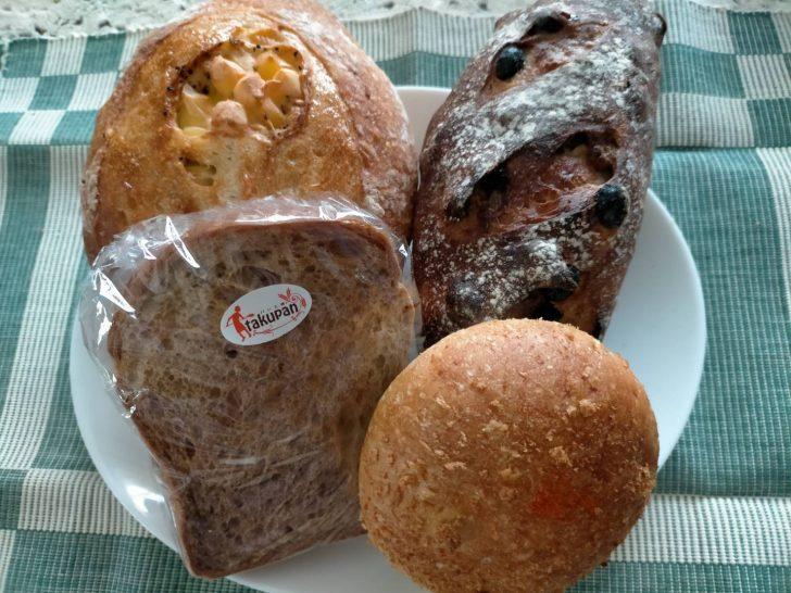 仙台若林区で大人気のパン工房『takupan』で美味しいハード系パンを購入!