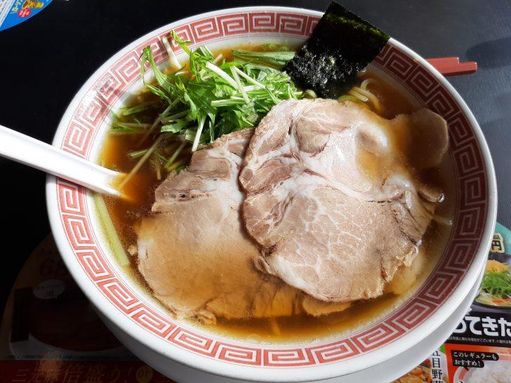 【激旨】期間限定の幸楽苑の三元豚チャーシュー麺を食べてみた!