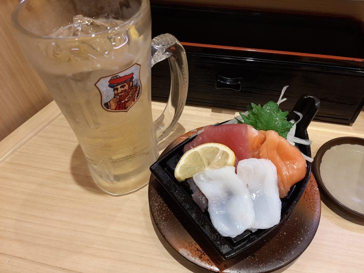 【超お得】『平禄寿司』仙台青葉一番町店でちょい呑みしてみた!