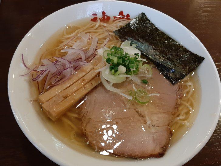 【人気行列店】『麺奏 神楽(かぐら)』の(魚貝鶏そば 塩)が激旨だった!