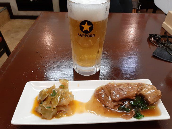 【ランチ人気店】中華料理『チャイナハウス龍宝』は、夜もお得なちょい呑みができるお店だった!