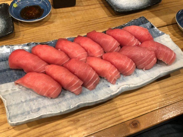【漁業関係者支援】海鮮居酒屋『鰓呼吸』泉中央店の「本マグロ握り寿司90分食べ放題」に行ってみた!