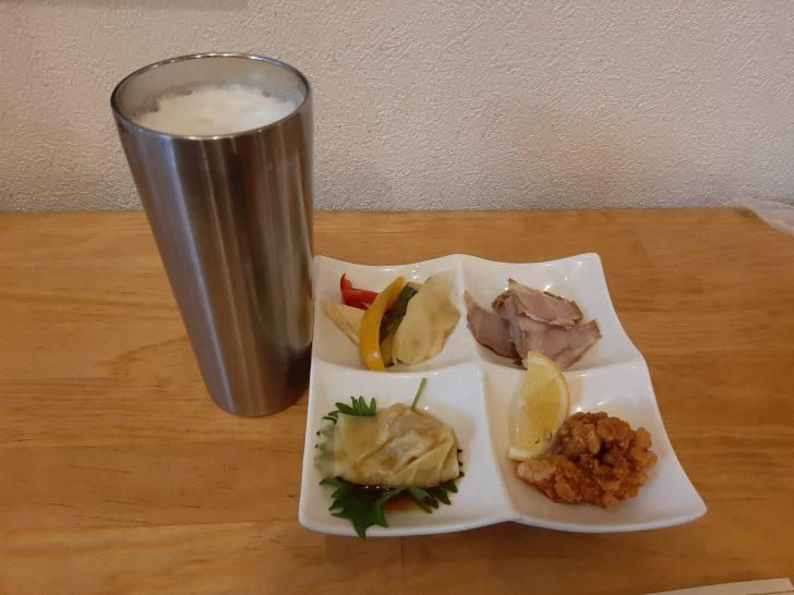 【安くて旨い】仙台銀座の『大衆中華 ちんまや』の「ひとり飲みセット」は最高クラスのちょい飲みだった!