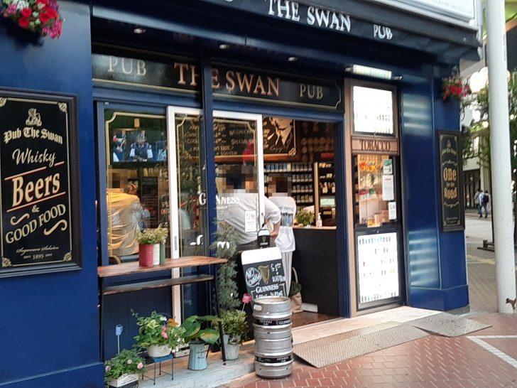 【新店訪問】5/29 オープンのアイリッシュパブ『PUB THE SWAN』でアイルランドビール「キルケニー」を飲んだ!