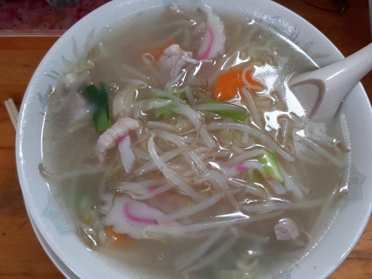【旨い町中華】若林区荒井の中華料理『萬新軒』で、もやしらーめんを食べてみた!